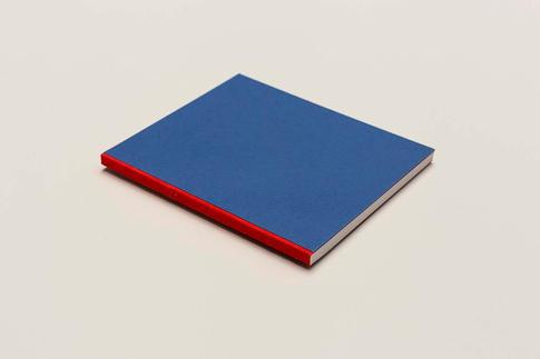 zápisník Unique červeno-modrý