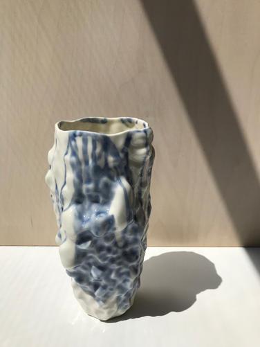 váza IN 4/14 modrá