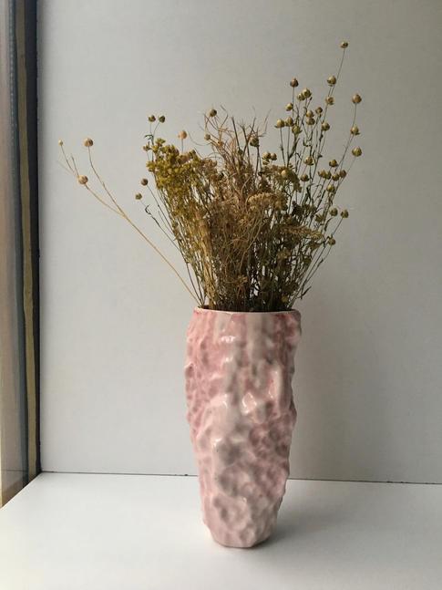 váza IN 4/23 ružová