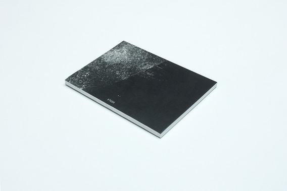 zápisník Diagonal čierno-šedý