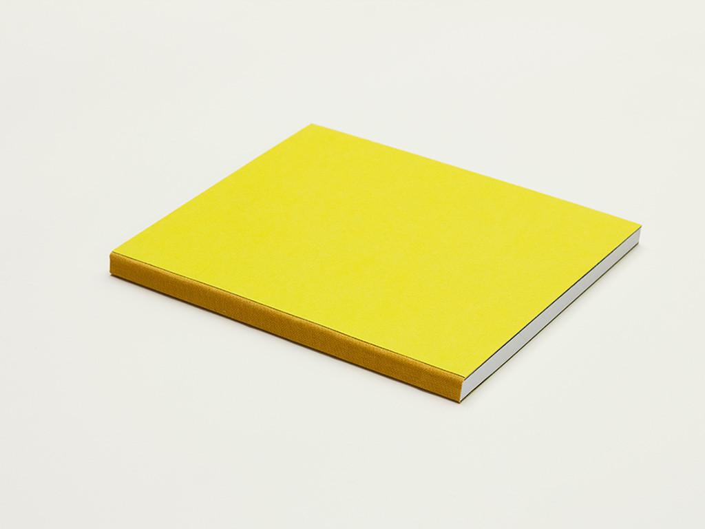 zápisník Unique žlto-oranžový