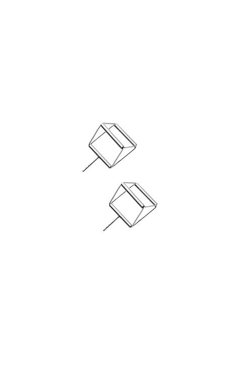 náušnice Cube 02