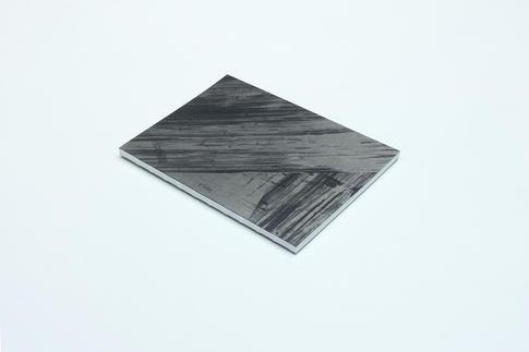 zápisník Diagonal čierno-strieborný