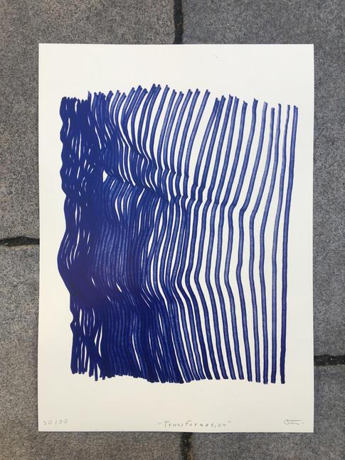 Transformation modrá