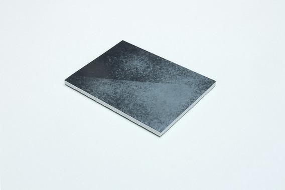 zápisník Diagonal čierny