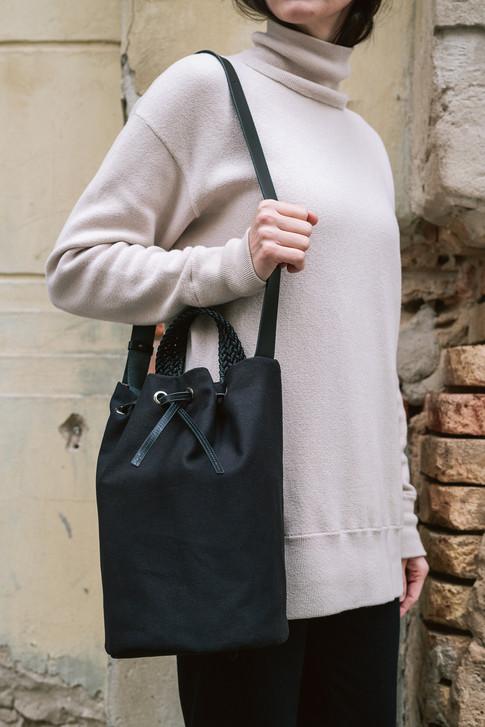 Bucket Bag Small Noir