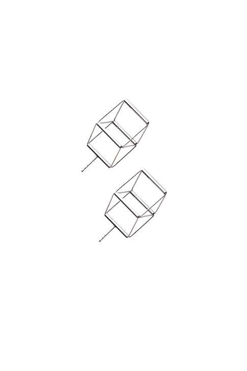 náušnice Cube 01