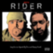 Ain't a Rider Official Cover Art.jpg