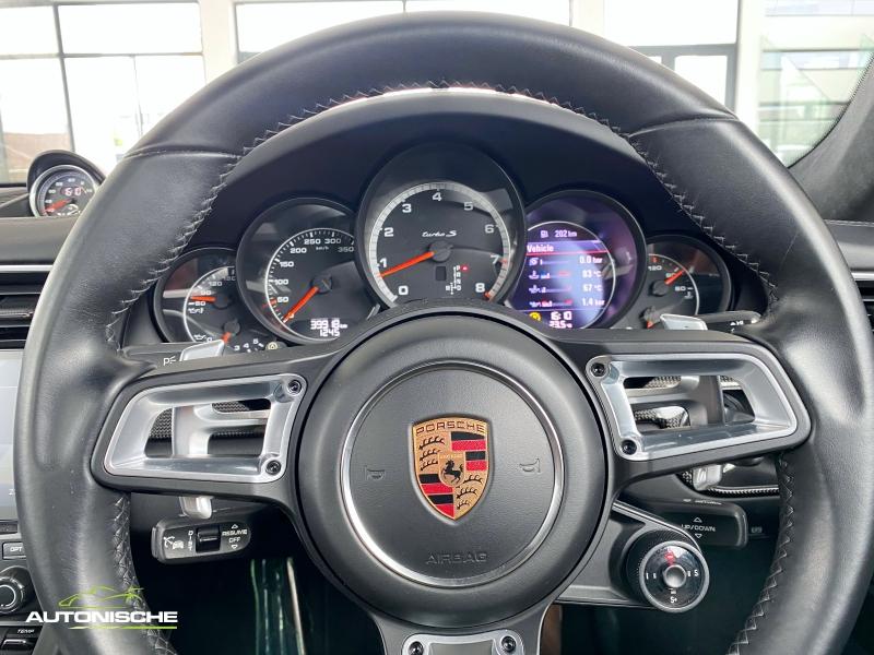 2016 Porsche 911 Coupe Turbo S PDK 991.2