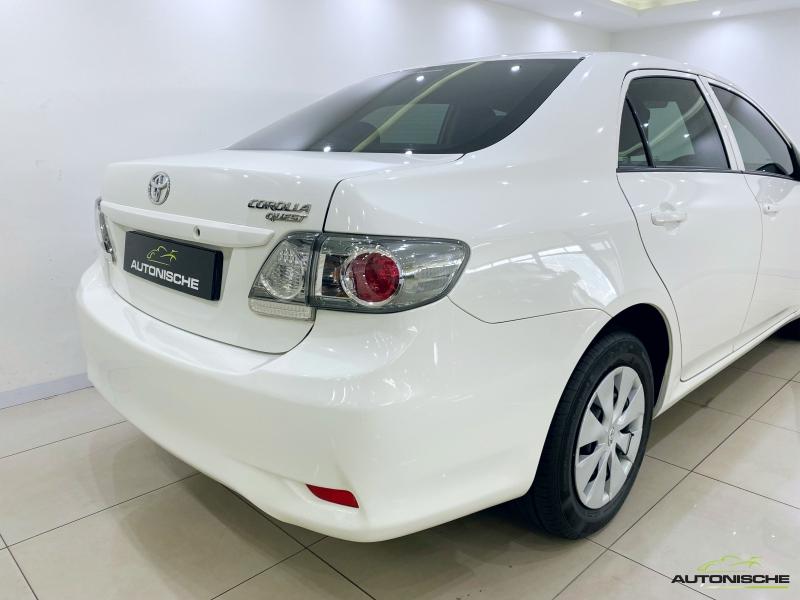 2017 Toyota Corolla 1.6 Quest Auto