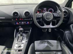 2018 Audi RS3 Sedan 2.5TFSi Quattro S-Tronic