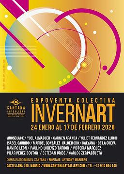 santanaartgallery_expo_invernart_cartel@
