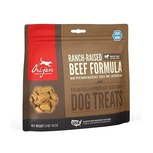 Dla Psa:  ORIJEN FD Treat Ranch-Raised Beef 42,5