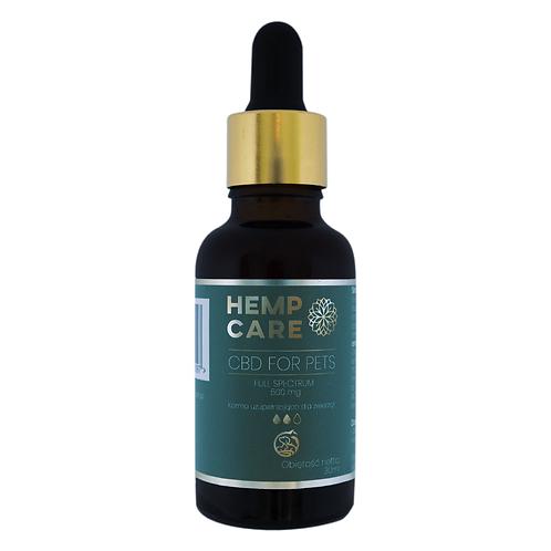 Hemp Care CBD dla psów i kotów olejek 500mg
