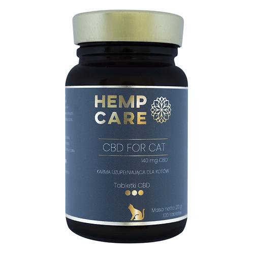 Hemp Care CBD dla kotów 100 tabletek