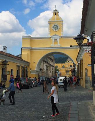 Antigua, a cidade mais charmosa da Guatemala!