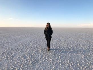 Salar de Uyuni, o famoso deserto de sal da Bolívia!