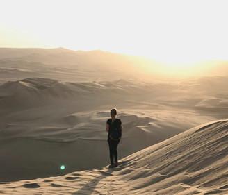 Huacachina, um oásis em meio ao deserto do Peru!