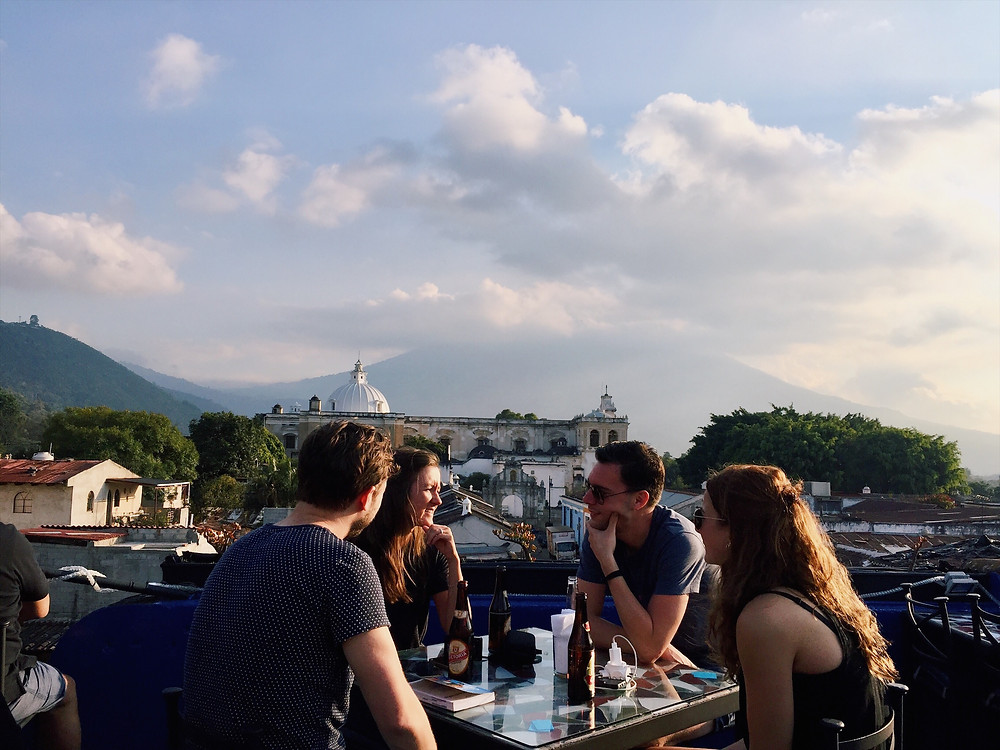Café Sky Antigua Guatemala