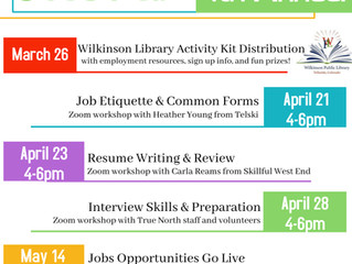 Upcoming Jobs Fair for teens, spring break Staycation