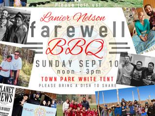 Lanier Nelson Farewell BBQ