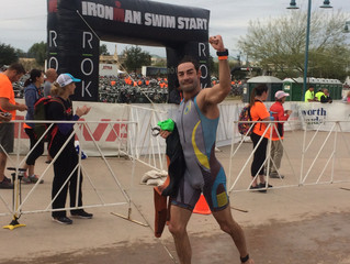 Lanier becomes an Ironman in support of True North!