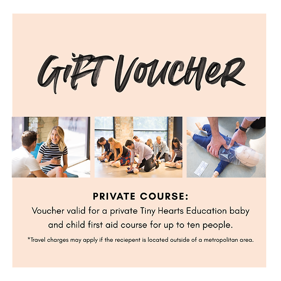 Gift Voucher: Private First Aid Course