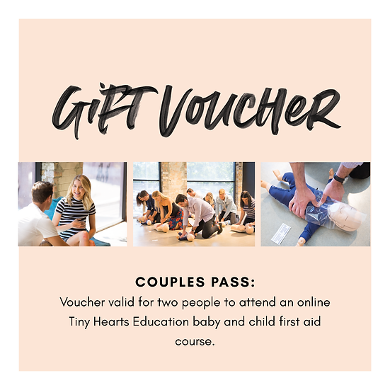 Gift Voucher: First Aid Course Couples Pass