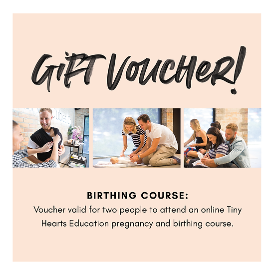 Gift Voucher: Birthing Course Couples Pass