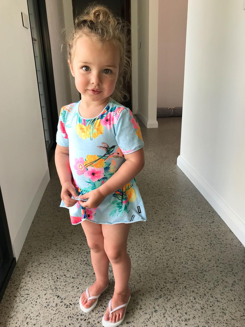 Sarah's daughter Maysie