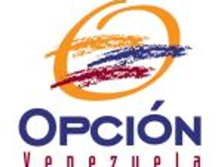 OPCIÓN Venezuela: Construyendo el país que quieres en el país que tienes.