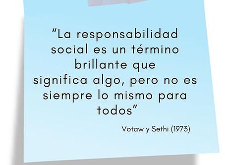 Responsabilidad Social: Expectativa VS Realidad.