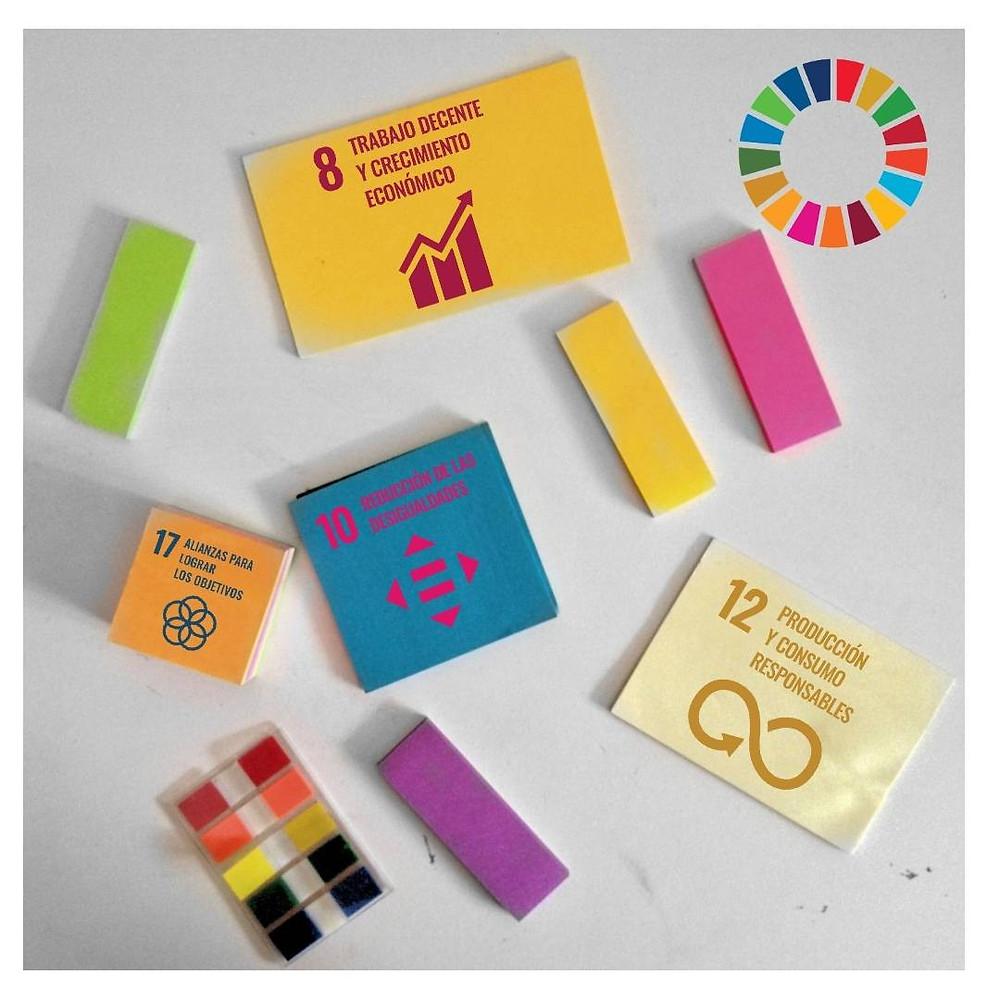 Imagen de los ODS que son prioritarios para InspiraRSE