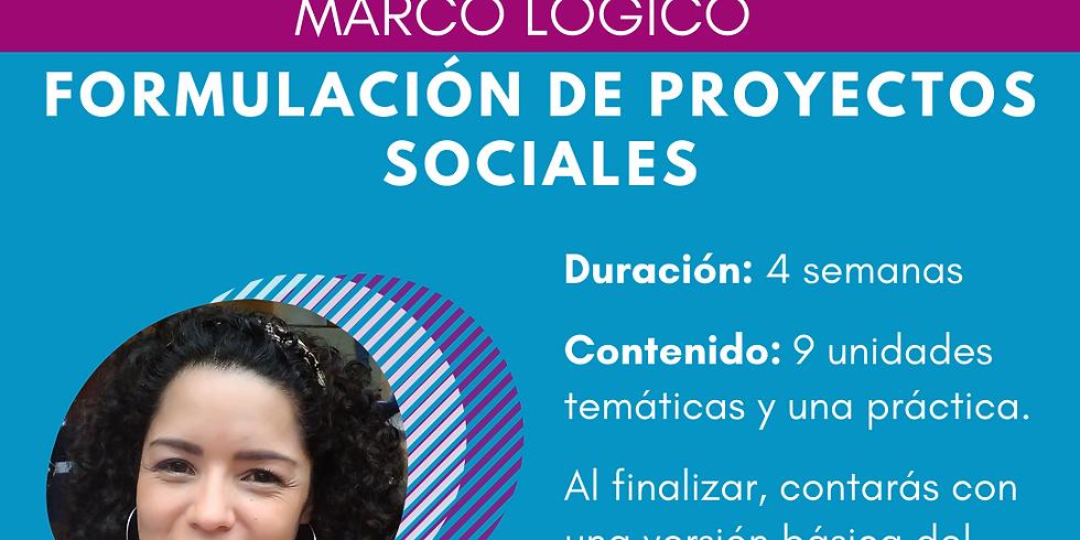 Formulación de Proyectos Sociales
