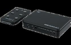 HDMI keitiklis su pulteliu 1x4