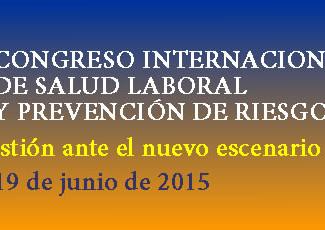 IV CONGRESO INTERNACIONAL DE SALUD LABORAL Y PREVENCIÓN DE RIESGOS