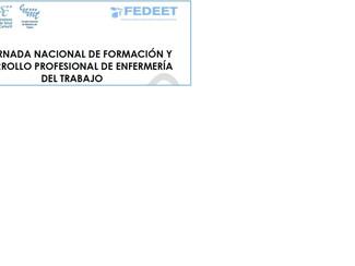IV JORNADA NACIONAL DE FORMACIÓN Y DESARROLLO PROFESIONAL DE ENFERMERÍA DEL TRABAJO