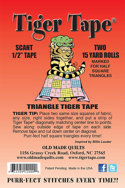 Triangle Tiger Tape