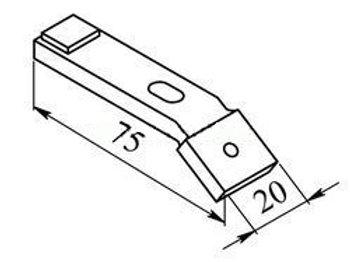 Контакт КМ-5100 (5103) подвижный