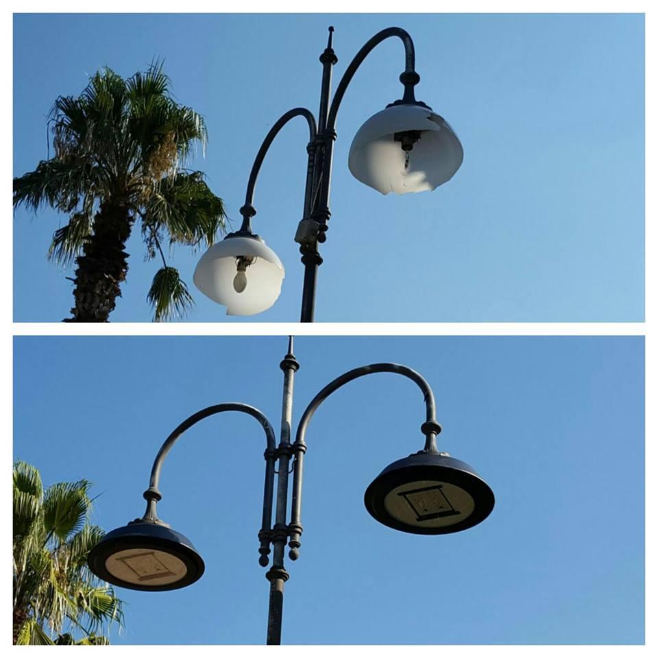Pubblica illuminazione, Sant'Antimo
