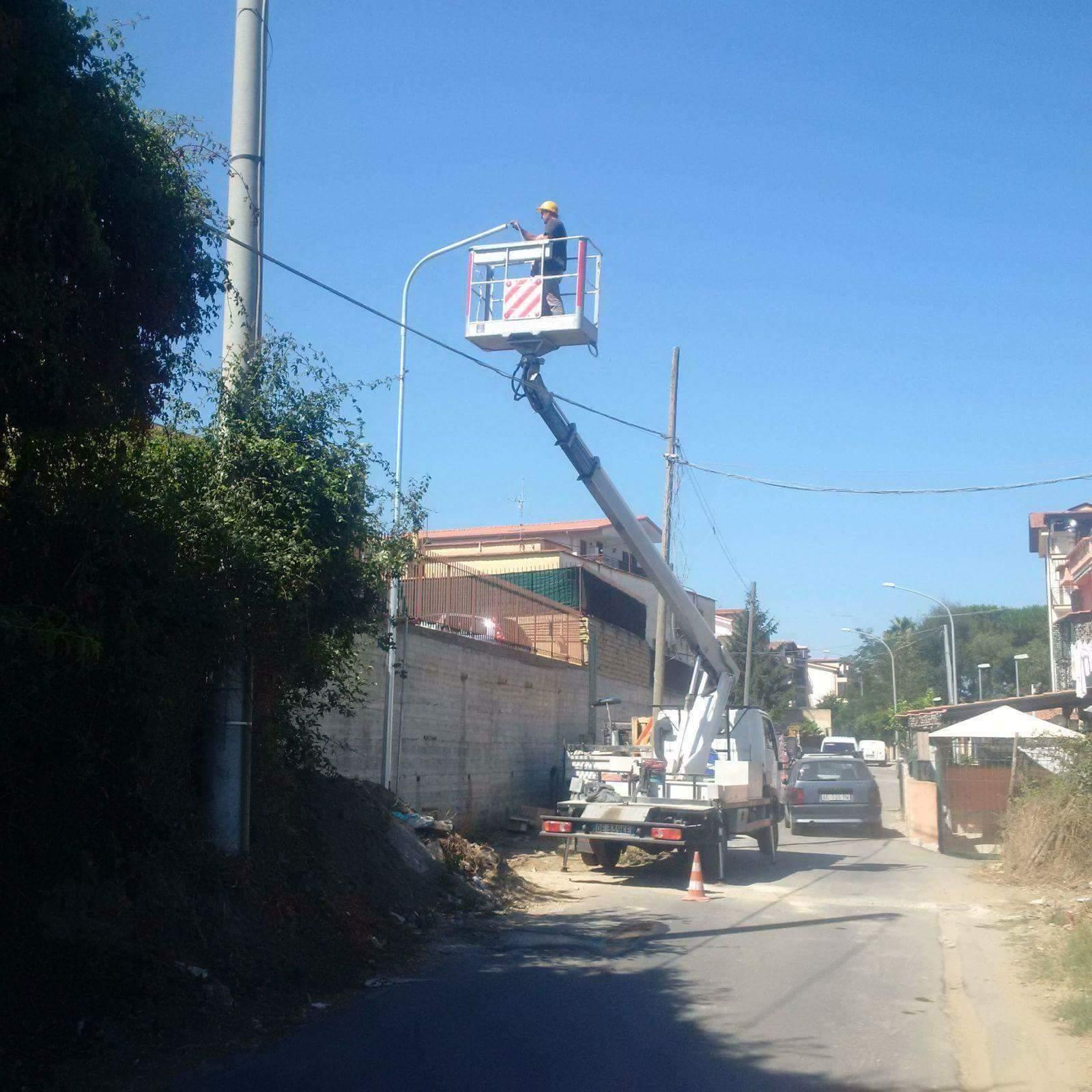 Pubblica Illuminazione, Qualiano(NA)