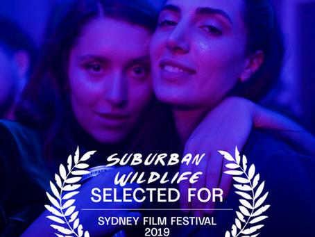 SUBURBAN WILDLIFE ANNOUNCED AS PART OF THE SYDNEY FILM FESTIVAL 2019