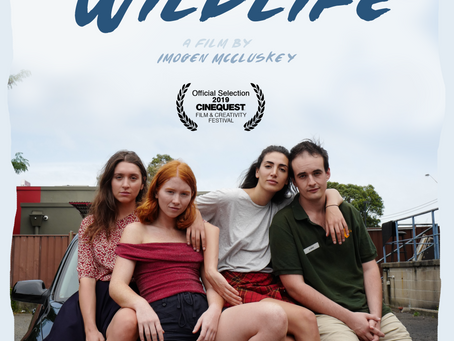FILMINK - SUBURBAN WILDLIFE TO HAVE ITS WORLD PREMIERE AT CINEQUEST FILM FESTIVAL IN CALIFORNIA
