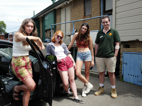 FILMINK - FOUR FRIENDS GRAPPLE WITH THEIR INEVITABLE SEPARATION IN THE SUBURBAN WILDLIFE TRAILER