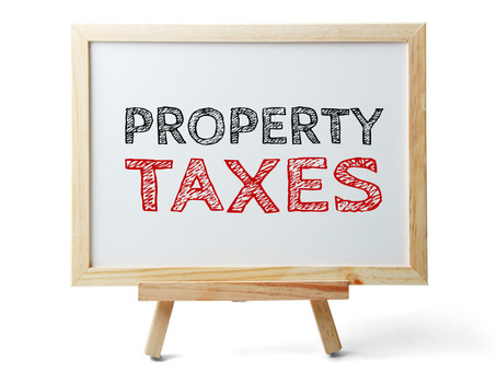 The tricky thing about property taxes for a home buyer