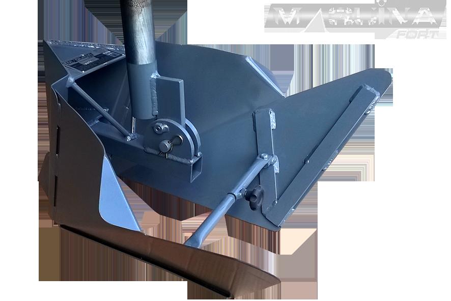 Sulcador para micro-trator