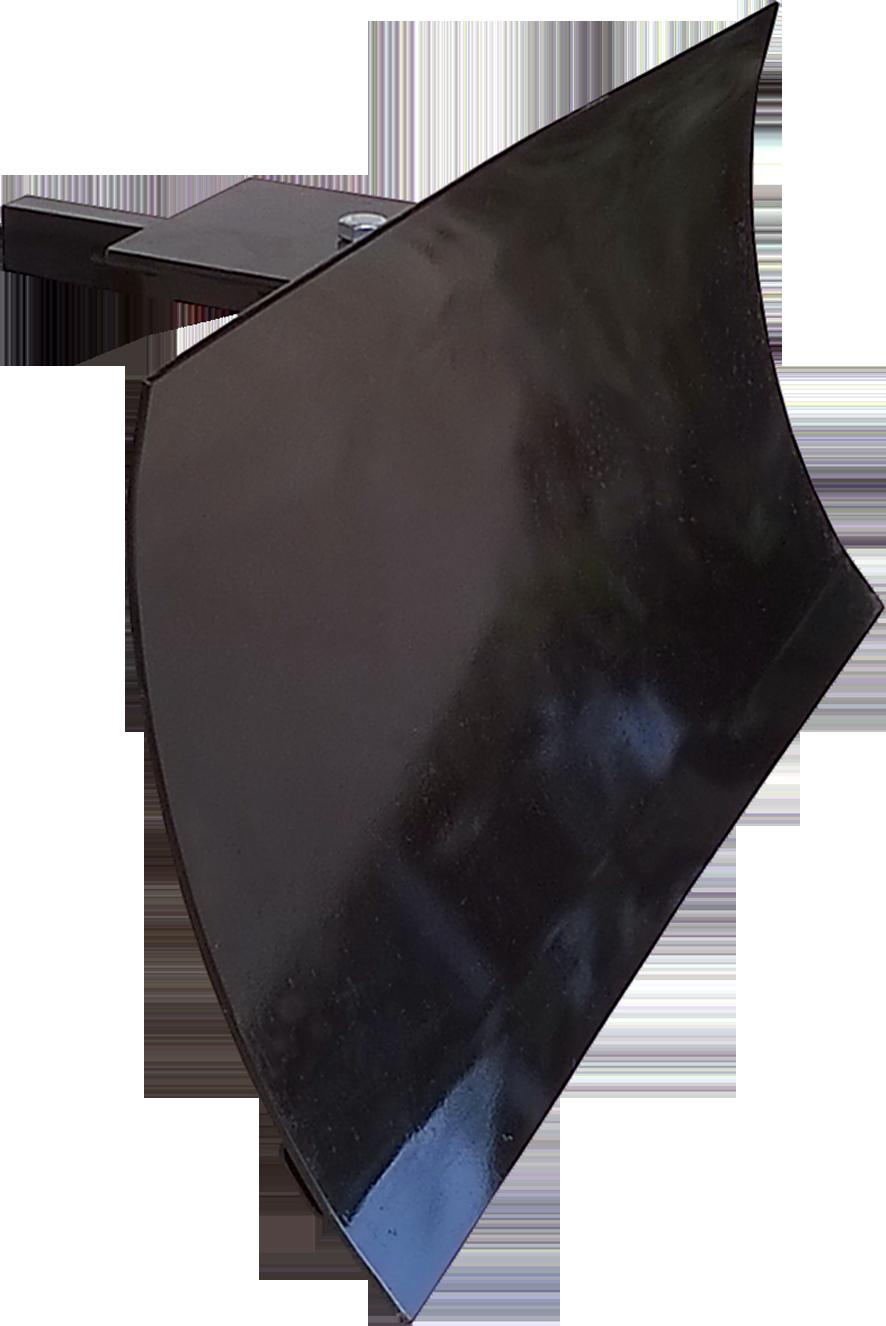 Visão da lâmina com altura de 0,43m