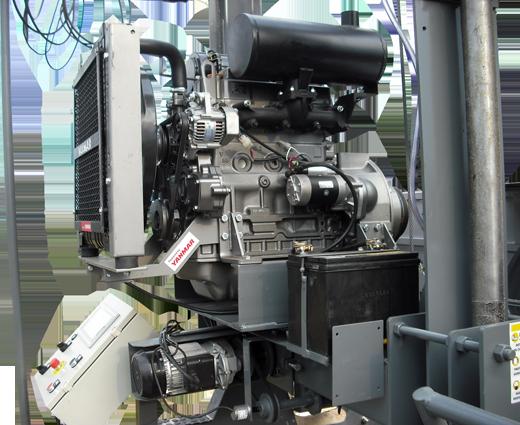 Serra Móvel com motor 4TNV88