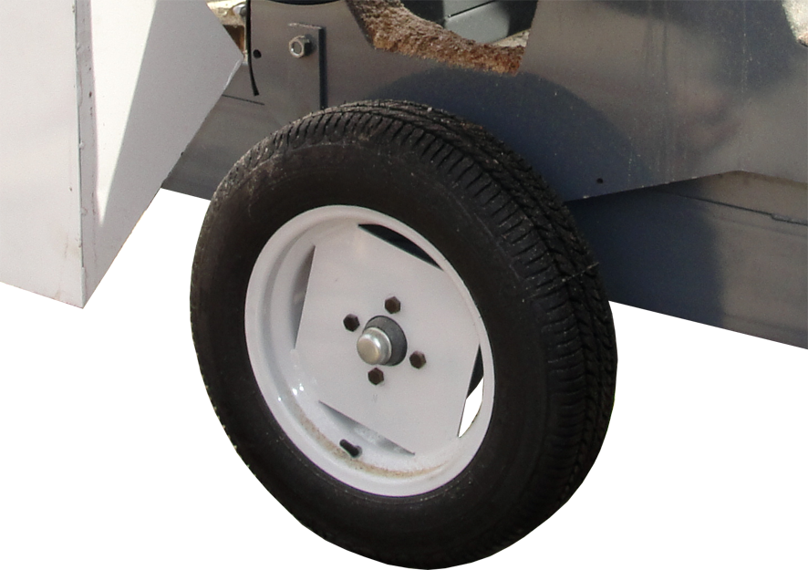Serra Móvel com transportador
