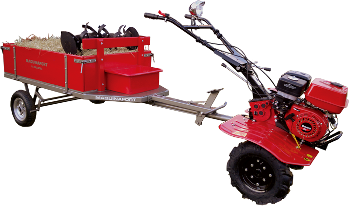 Carreta para motocultivador
